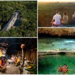 Cobá – Cenote – Aldea Maya