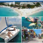 Isla Mujeres en catamarán